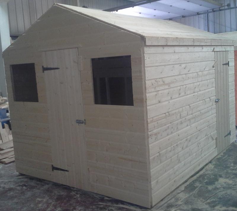 scotland wooden workshops heavy duty garden sheds scotland uk - Garden Sheds Scotland