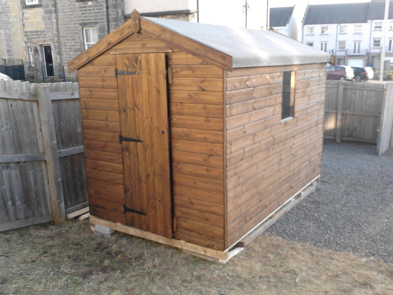 wooden garden sheds for sale with free delivery and free installation in falkirk area scotland uk - Garden Sheds Scotland