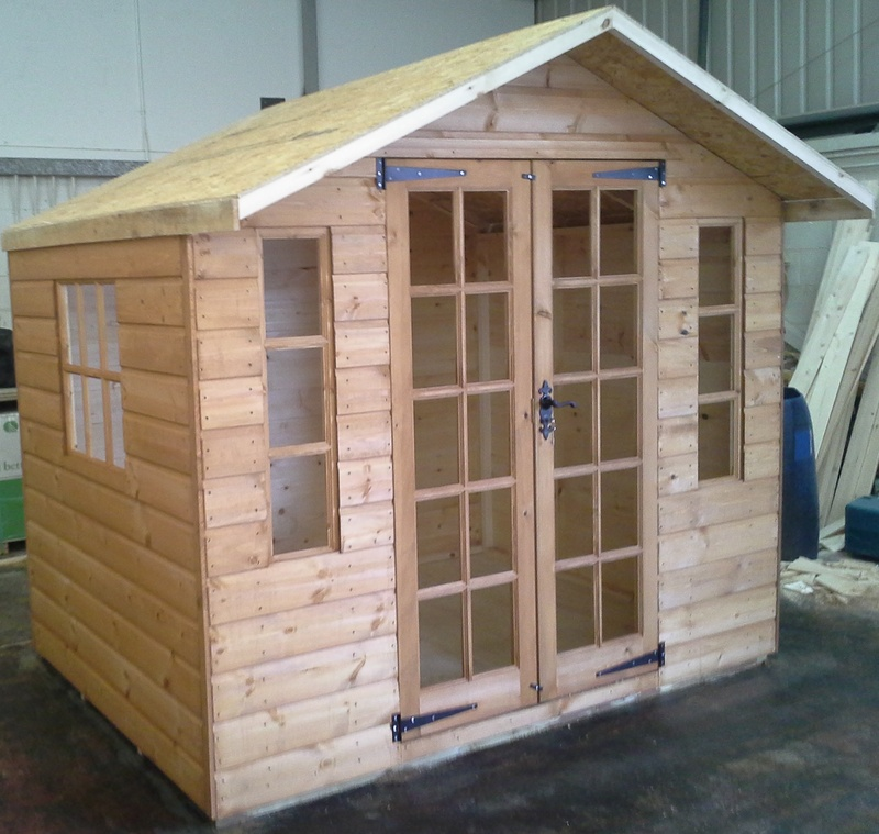 plain garden sheds scotland summerhouses outdoor wooden buildings - Garden Sheds Scotland
